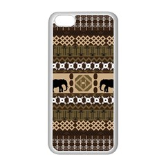 African Vector Patterns  Apple iPhone 5C Seamless Case (White)