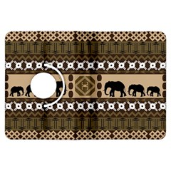 African Vector Patterns  Kindle Fire Hdx Flip 360 Case