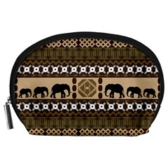 African Vector Patterns  Accessory Pouches (large)