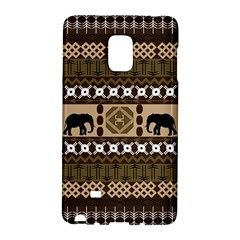 African Vector Patterns  Galaxy Note Edge