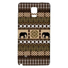 African Vector Patterns  Galaxy Note 4 Back Case