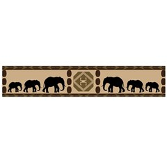 African Vector Patterns  Flano Scarf (large)