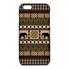 African Vector Patterns  iPhone 6/6S TPU Case