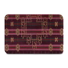 Ulos Suji Traditional Art Pattern Plate Mats