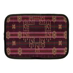 Ulos Suji Traditional Art Pattern Netbook Case (medium)