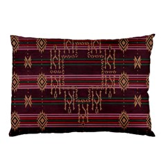Ulos Suji Traditional Art Pattern Pillow Case
