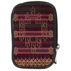 Ulos Suji Traditional Art Pattern Compact Camera Cases