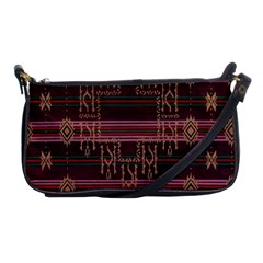 Ulos Suji Traditional Art Pattern Shoulder Clutch Bags