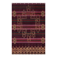 Ulos Suji Traditional Art Pattern Shower Curtain 48  x 72  (Small)