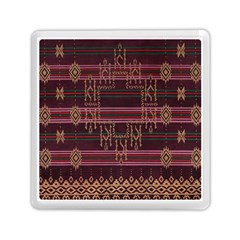 Ulos Suji Traditional Art Pattern Memory Card Reader (square)