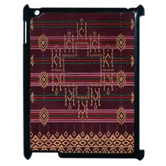 Ulos Suji Traditional Art Pattern Apple iPad 2 Case (Black)