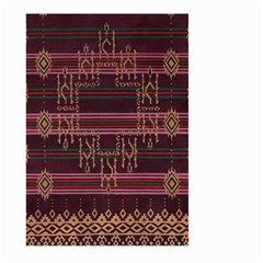 Ulos Suji Traditional Art Pattern Large Garden Flag (Two Sides)