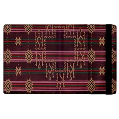 Ulos Suji Traditional Art Pattern Apple iPad 2 Flip Case