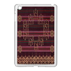 Ulos Suji Traditional Art Pattern Apple Ipad Mini Case (white)