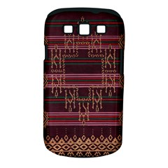 Ulos Suji Traditional Art Pattern Samsung Galaxy S Iii Classic Hardshell Case (pc+silicone)