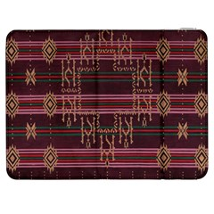 Ulos Suji Traditional Art Pattern Samsung Galaxy Tab 7  P1000 Flip Case