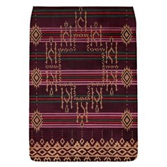 Ulos Suji Traditional Art Pattern Flap Covers (s)