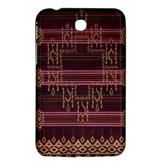 Ulos Suji Traditional Art Pattern Samsung Galaxy Tab 3 (7 ) P3200 Hardshell Case