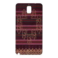 Ulos Suji Traditional Art Pattern Samsung Galaxy Note 3 N9005 Hardshell Back Case