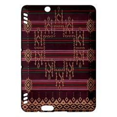 Ulos Suji Traditional Art Pattern Kindle Fire Hdx Hardshell Case