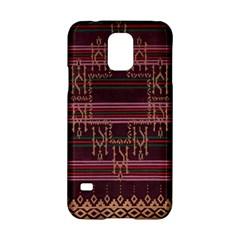 Ulos Suji Traditional Art Pattern Samsung Galaxy S5 Hardshell Case