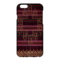 Ulos Suji Traditional Art Pattern Apple Iphone 6 Plus/6s Plus Hardshell Case