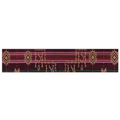 Ulos Suji Traditional Art Pattern Flano Scarf (Small)