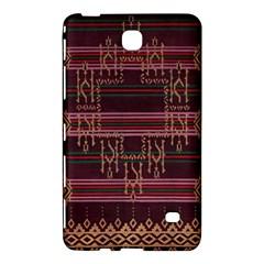 Ulos Suji Traditional Art Pattern Samsung Galaxy Tab 4 (8 ) Hardshell Case