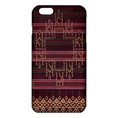 Ulos Suji Traditional Art Pattern Iphone 6 Plus/6s Plus Tpu Case