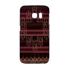 Ulos Suji Traditional Art Pattern Galaxy S6 Edge