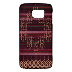 Ulos Suji Traditional Art Pattern Galaxy S6