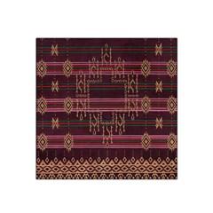 Ulos Suji Traditional Art Pattern Satin Bandana Scarf