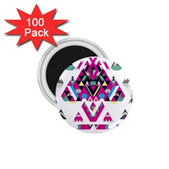 Geometric Play 1 75  Magnets (100 Pack)