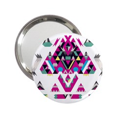 Geometric Play 2 25  Handbag Mirrors