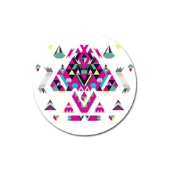 Geometric Play Magnet 3  (round)
