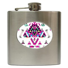 Geometric Play Hip Flask (6 oz)