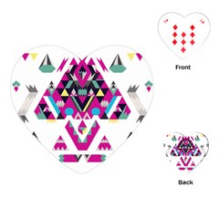 Geometric Play Playing Cards (heart)