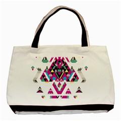 Geometric Play Basic Tote Bag (two Sides)
