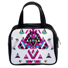 Geometric Play Classic Handbags (2 Sides)