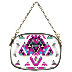 Geometric Play Chain Purses (two Sides)