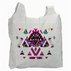 Geometric Play Recycle Bag (two Side)