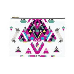 Geometric Play Cosmetic Bag (large)