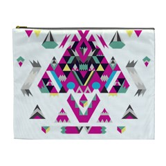 Geometric Play Cosmetic Bag (xl)