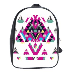 Geometric Play School Bags(Large)