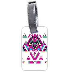 Geometric Play Luggage Tags (Two Sides)