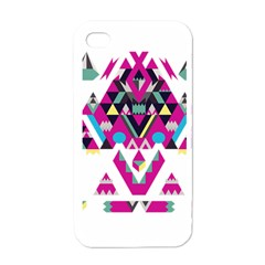 Geometric Play Apple Iphone 4 Case (white)