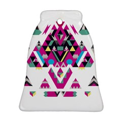 Geometric Play Bell Ornament (Two Sides)