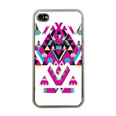 Geometric Play Apple iPhone 4 Case (Clear)
