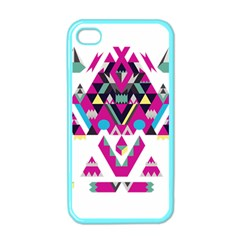 Geometric Play Apple Iphone 4 Case (color)