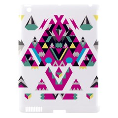Geometric Play Apple iPad 3/4 Hardshell Case (Compatible with Smart Cover)